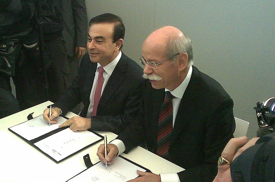 Daimler-Renault deal confirmed
