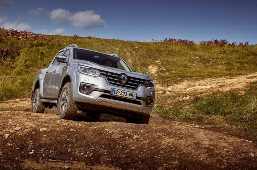Renault Alaskan off-road