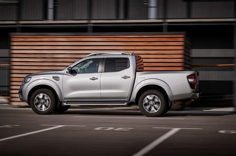 Renault Alaskan side profile
