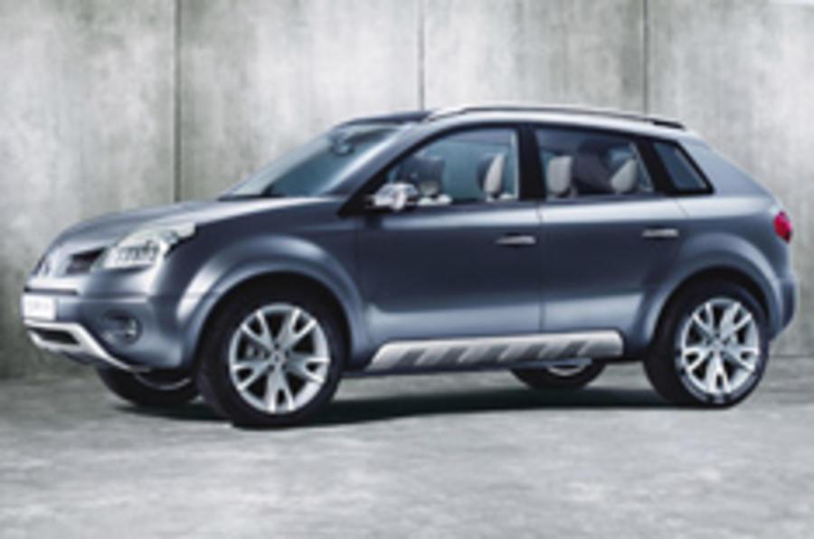 Paris show: Renault's small 4x4