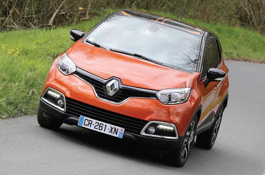 Renault Captur Trunk Renault Captur