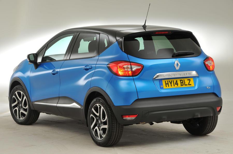Renault Captur rear quarter