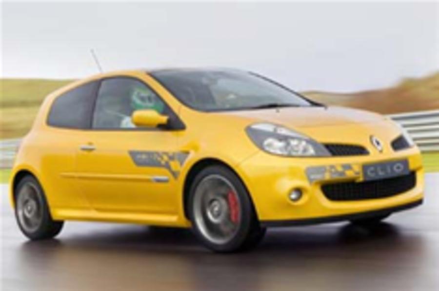 Hottest Clio will cost £17k