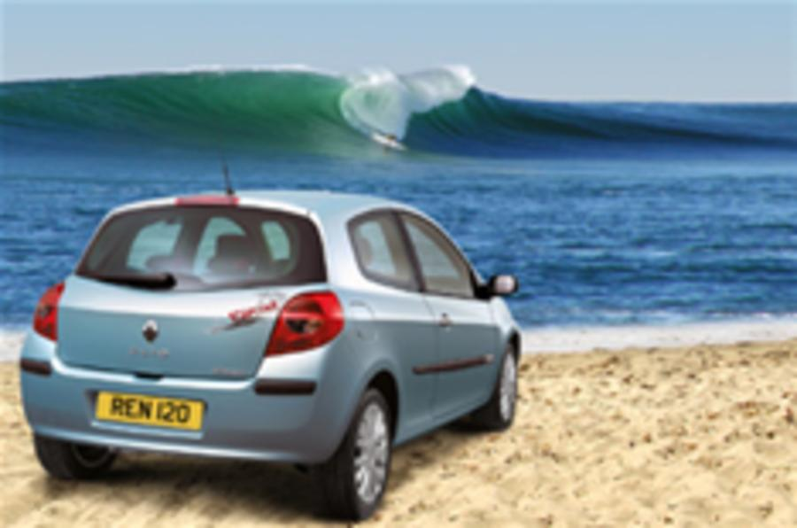 Special-edition Clio for surf wannabes