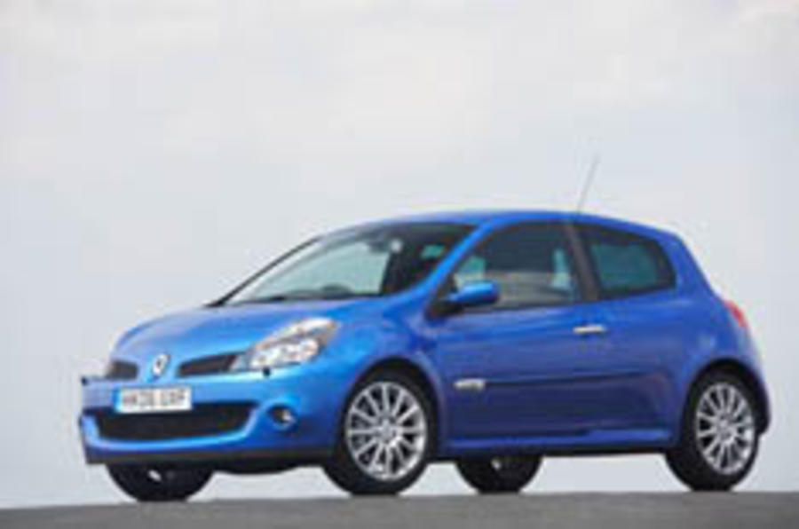 Renault Clio 197: first UK drive