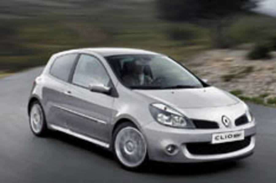 Renaultsport's latest: the 197 Clio