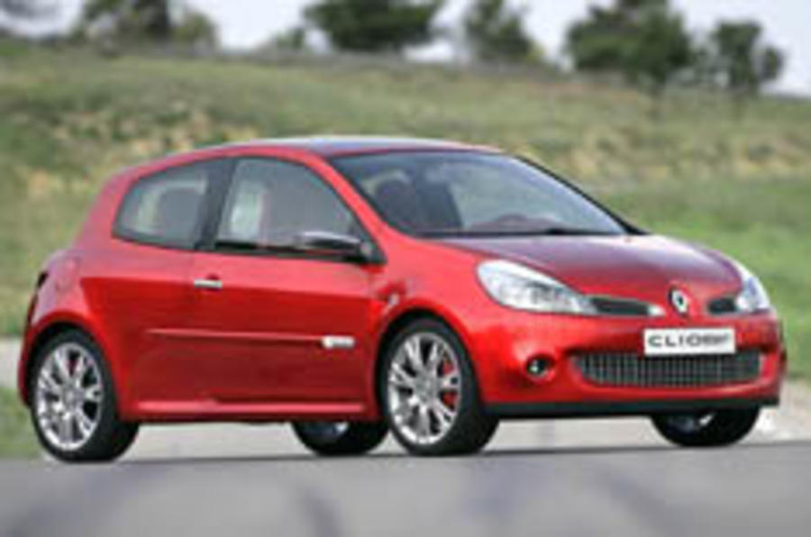 Clio sires heir to the hot hatch throne