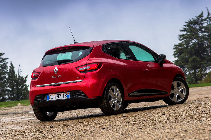 Renault Clio rear quarter