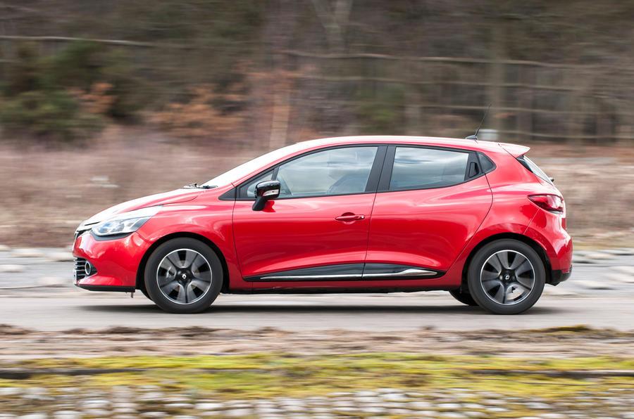 Renault Clio side profile