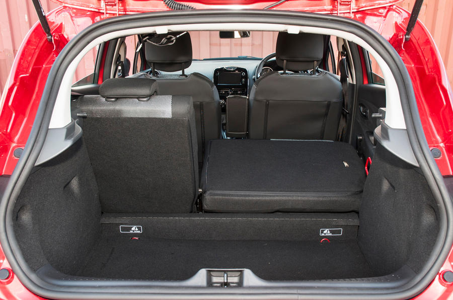 Renault Clio boot space