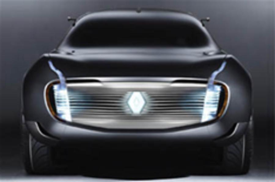 Renault hybrid concept for Paris