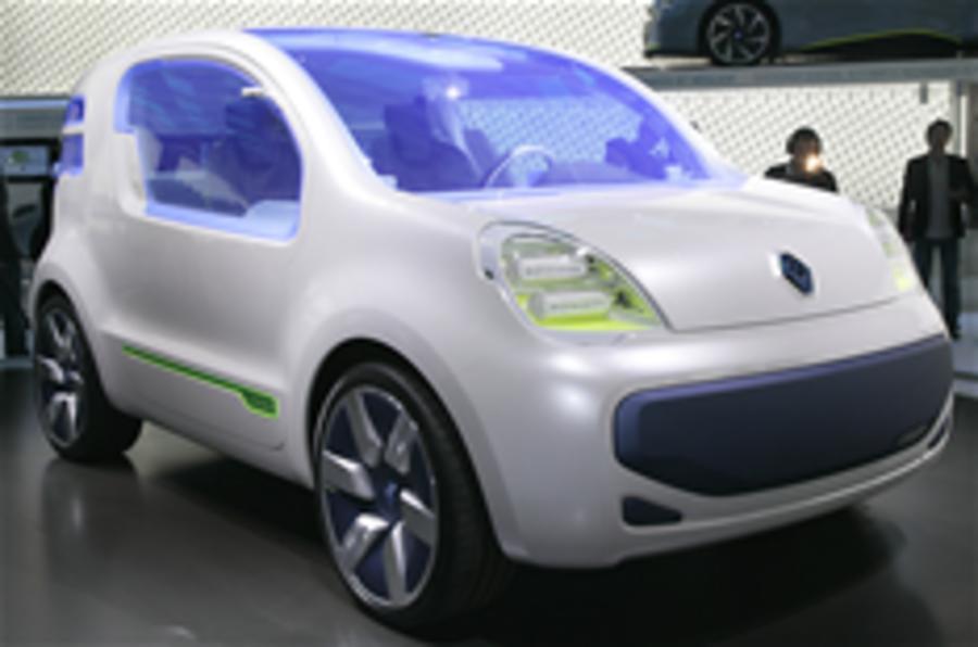 Frankfurt motor show: Renault Kangoo ZE