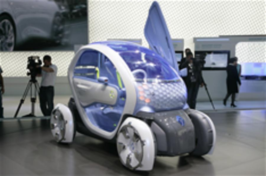 Frankfurt motor show: Renault Twizy