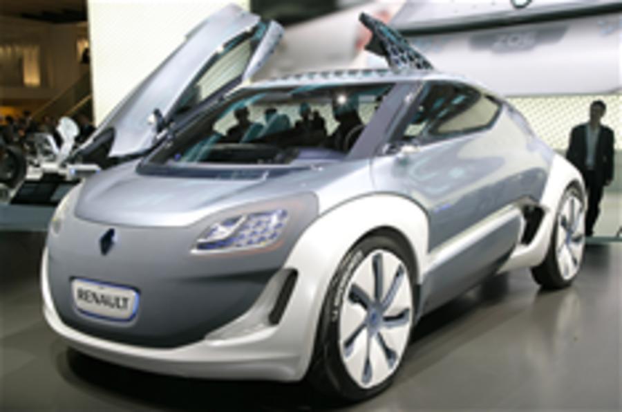 Frankfurt motor show: Renault Zoe