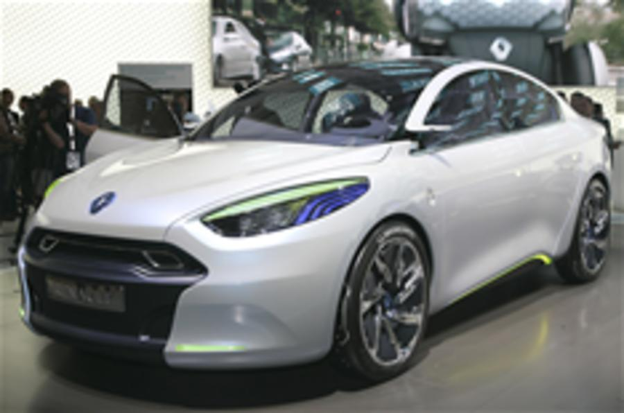 Renault Fluence electric concept