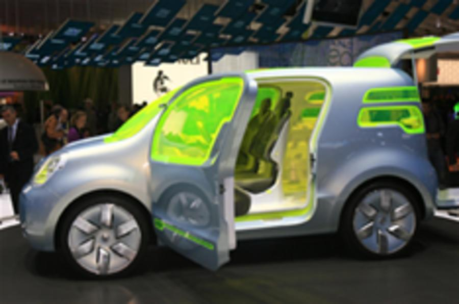 Renault plans three electric cars