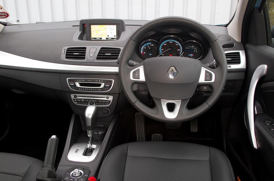 Renault Fluence dashboard