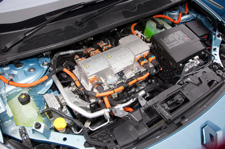 Renault Fluence electric motor