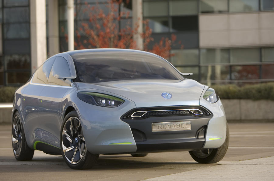 Renault Fluence stays electric