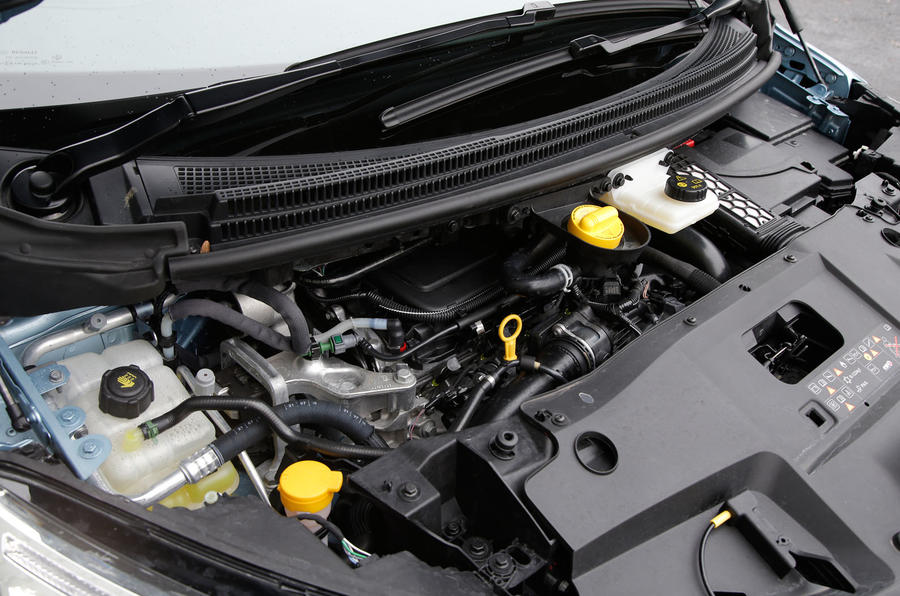 1.6-litre Renault Grand Scenic diesel engine