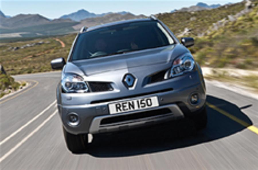 Keen pricing for Renault Koleos