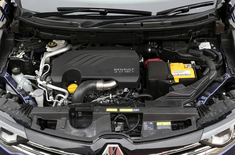 2.0 dCi Renault Koleos engine