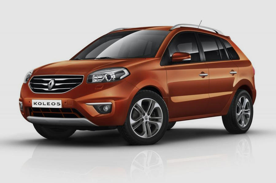 Facelift Koleos unveiled