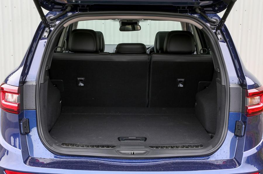 Renault Koleos boot space