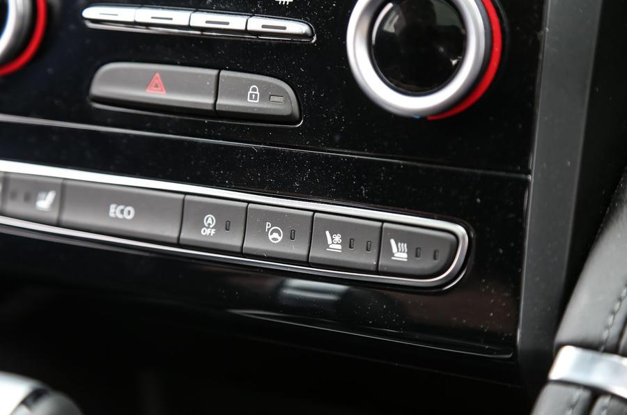 Renault Koleos centre console