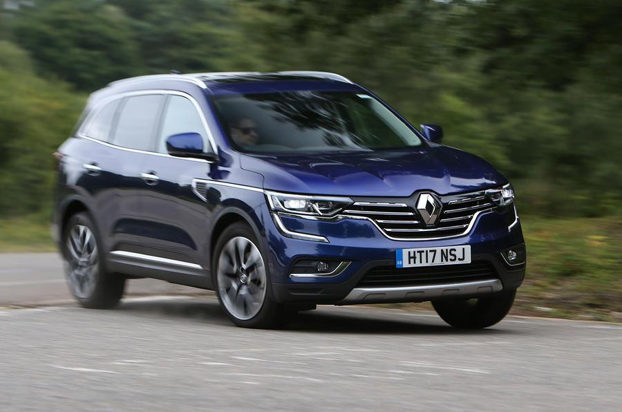 Renault Koleos cornering