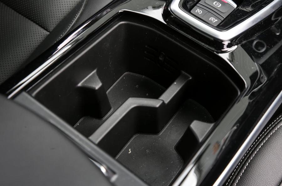 Renault Koleos cupholders