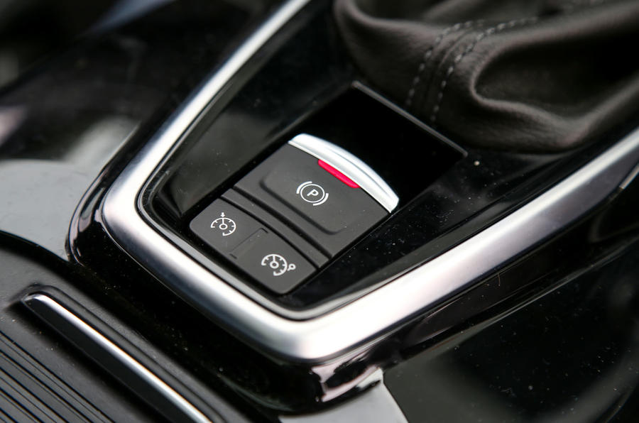 Renault Koleos electronic parking brake