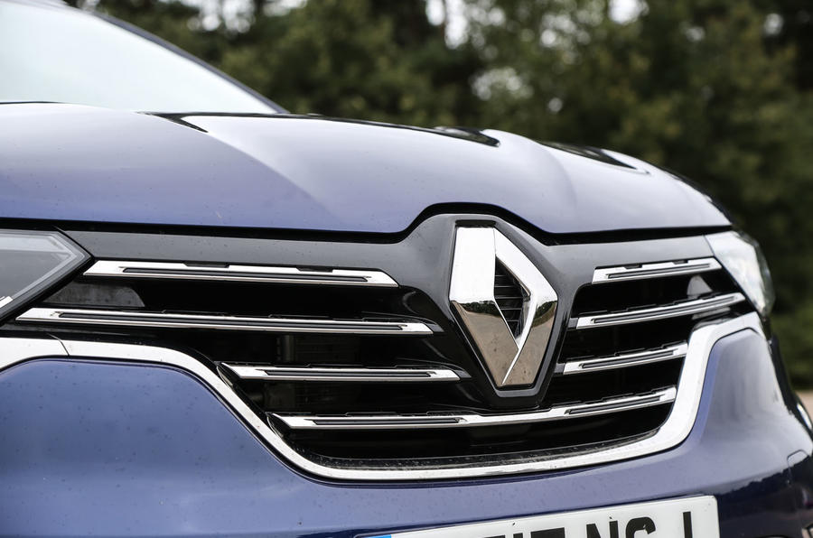 Renault Koleos front grille