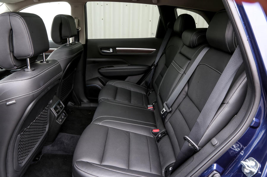 Renault Koleos rear seats