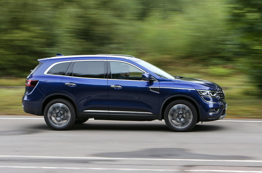 Renault Koleos side profile