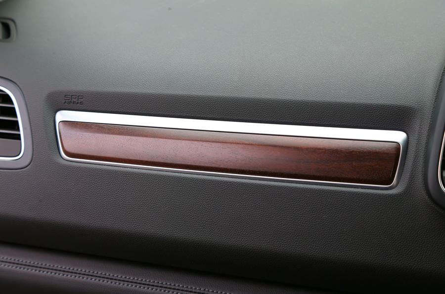 Renault Koleos wood trim