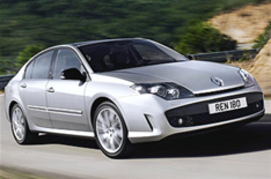 Renault scraps large cars