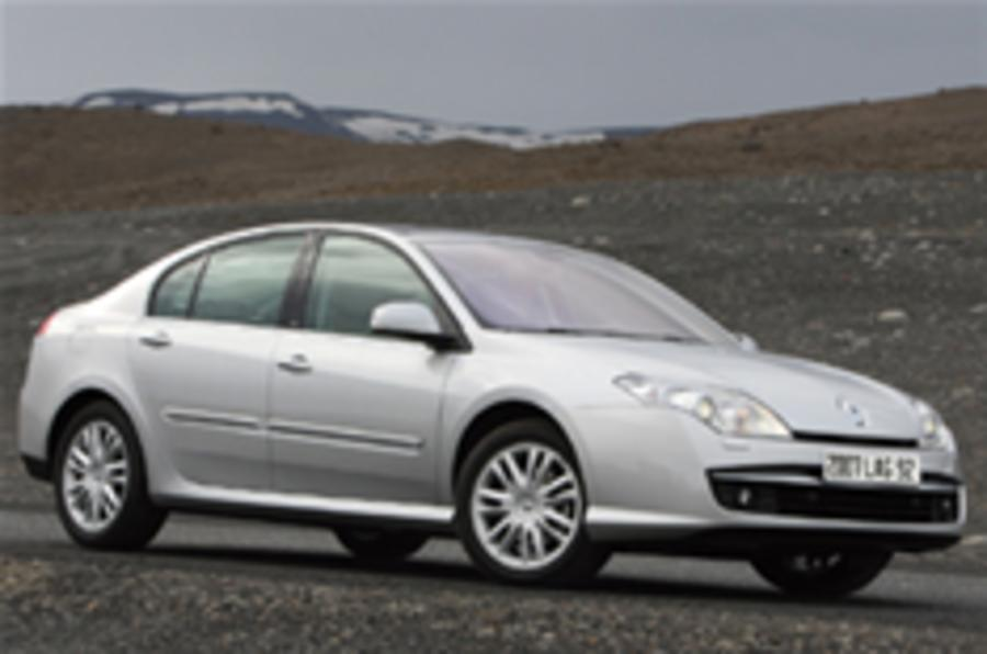 New Laguna takes on the Mondeo