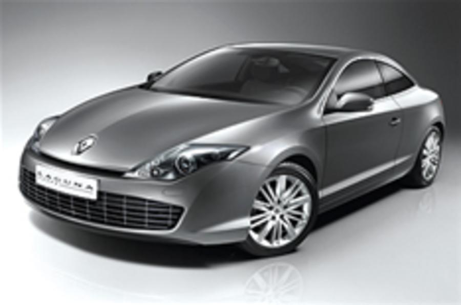 Revealed: Renault Laguna coupe