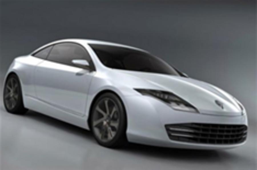 Renault's sleek Laguna Coupe revealed