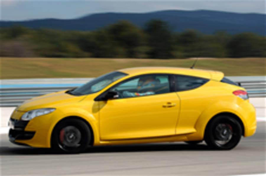 Renaultsport Megane on video