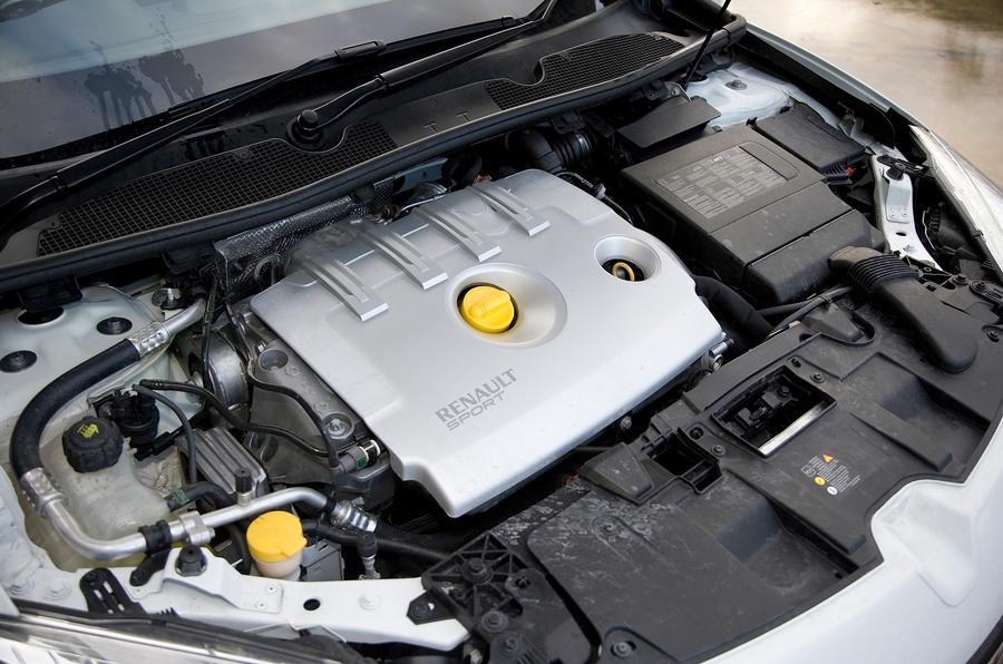 1.6-litre Renault Megane diesel engine
