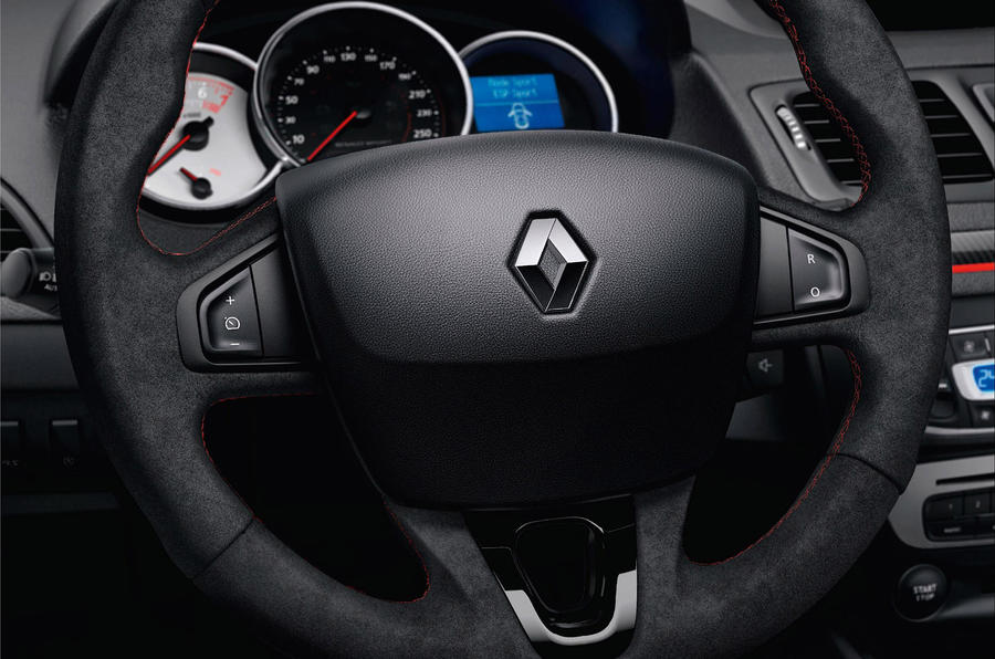 Renault Megane 275 Trophy steering wheel
