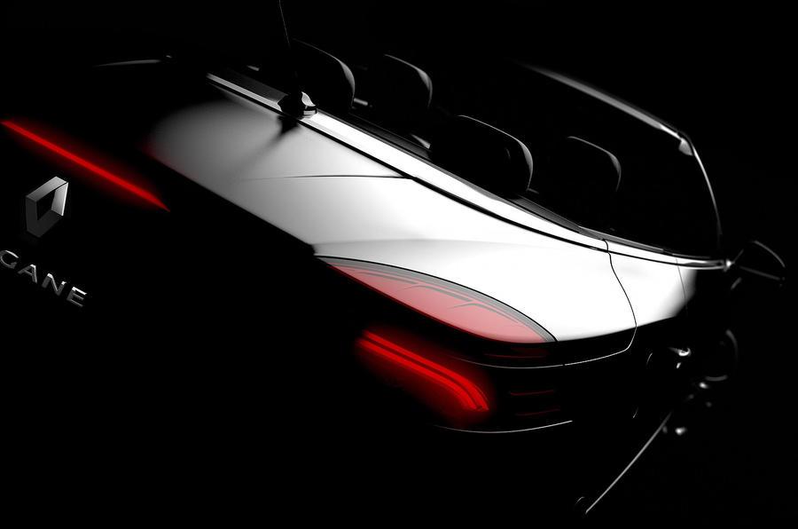 Renault Megane CC teaser pic