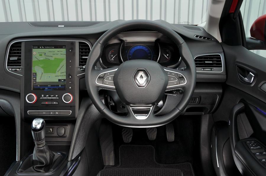 Renault Megane dashboard