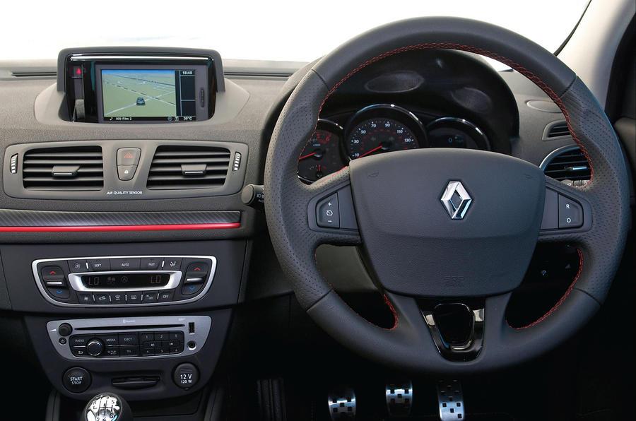 Renault Megane GT Line dashboard