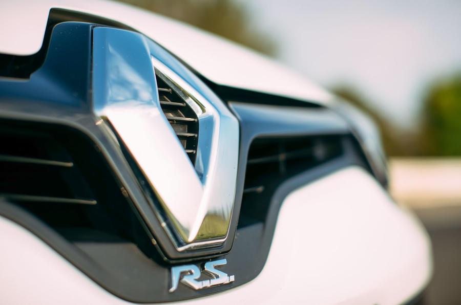 Renaultsport badging