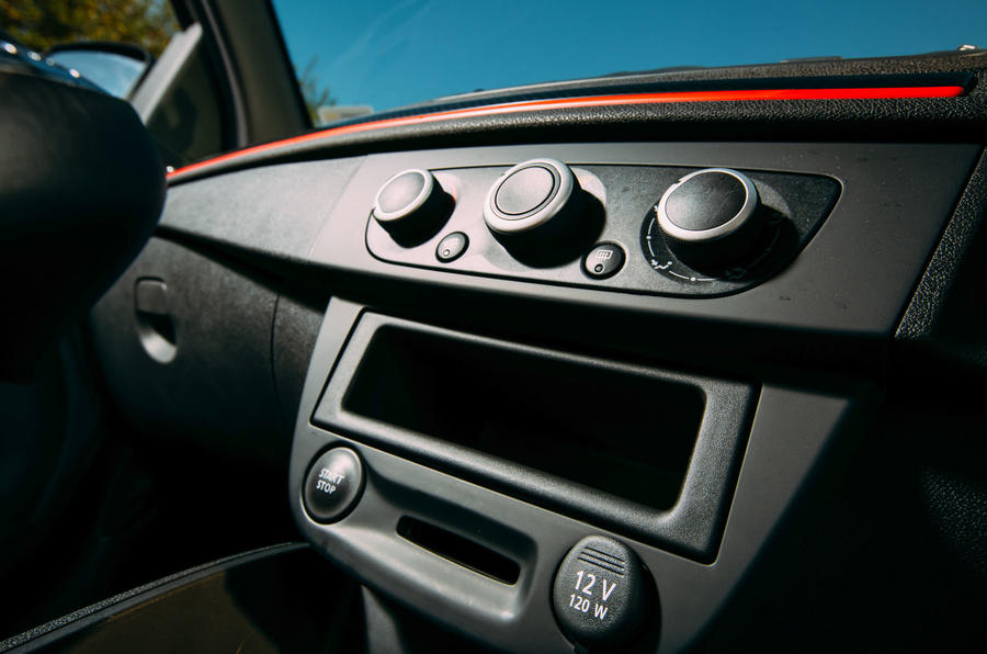 Megane RS275 Trophy-R centre console
