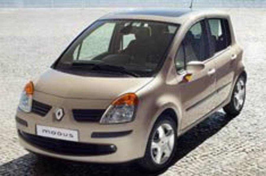 Renault announce Modus prices