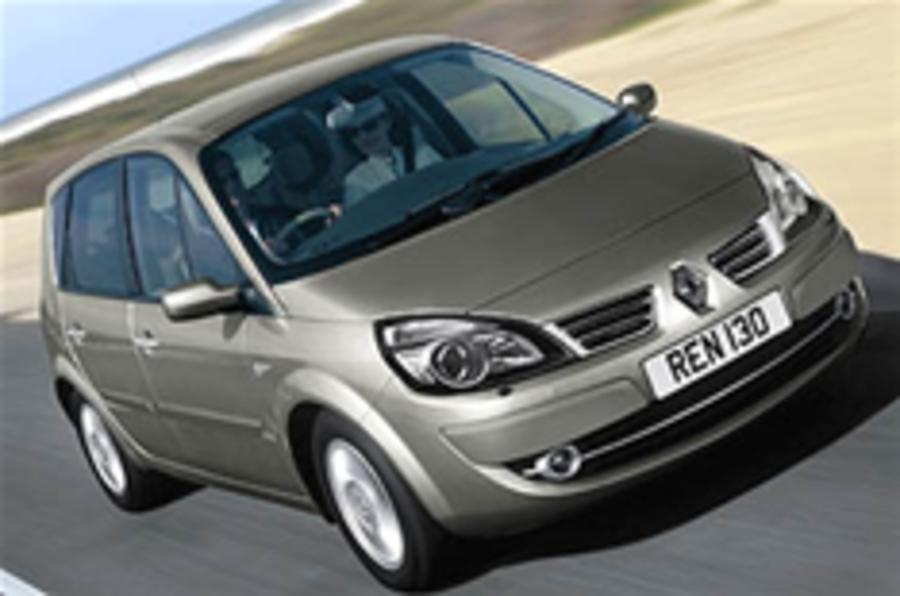 Renault Scenic gets facelift